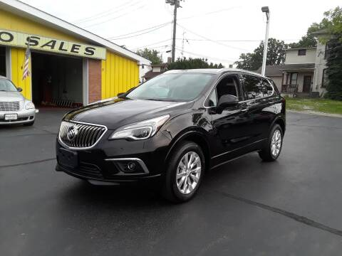2017 Buick Envision for sale at Sarchione INC in Alliance OH