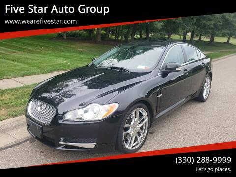 2009 Jaguar XF for sale at Five Star Auto Group in North Canton OH