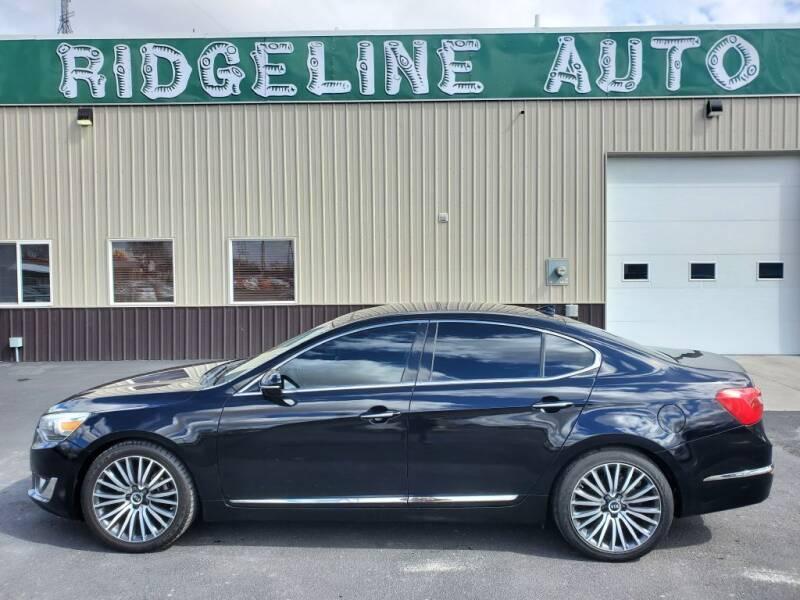 2014 Kia Cadenza for sale at RIDGELINE AUTO in Chubbuck ID
