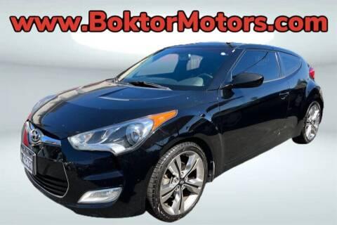 2013 Hyundai Veloster for sale at Boktor Motors in North Hollywood CA