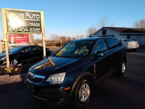 2008 Saturn Vue for sale at LEWIS AUTO in Mountain Home AR
