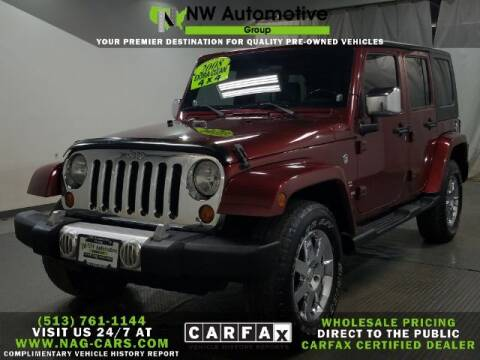 2008 Jeep Wrangler Unlimited for sale at NW Automotive Group in Cincinnati OH
