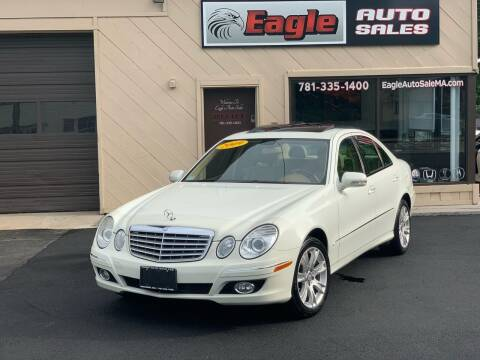 2009 Mercedes-Benz E-Class for sale at Eagle Auto Sales LLC in Holbrook MA
