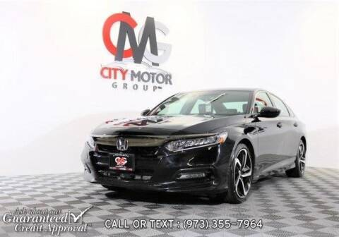 2018 Honda Accord for sale at City Motor Group, Inc. in Wanaque NJ
