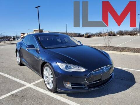2013 Tesla Model S for sale at INDY LUXURY MOTORSPORTS in Fishers IN