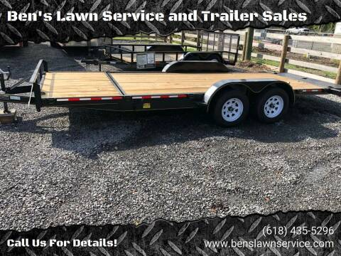 2018 Trailer Express 20' Tilt FB for sale at Ben's Lawn Service and Trailer Sales in Benton IL