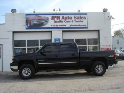 2005 Chevrolet Silverado 2500HD for sale at JPH Auto Sales in Eastlake OH