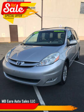 2007 Toyota Sienna for sale at MD Euro Auto Sales LLC in Hasbrouck Heights NJ