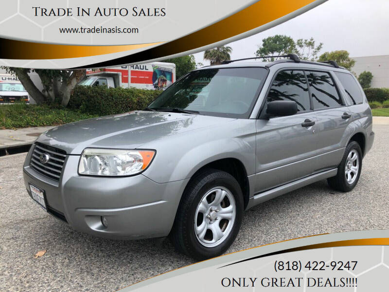 2007 Subaru Forester for sale at Trade In Auto Sales in Van Nuys CA