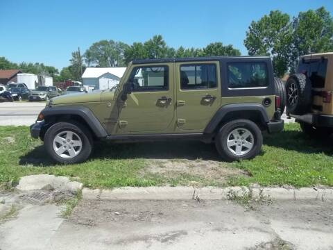 2013 Jeep Wrangler Unlimited for sale at BRETT SPAULDING SALES in Onawa IA