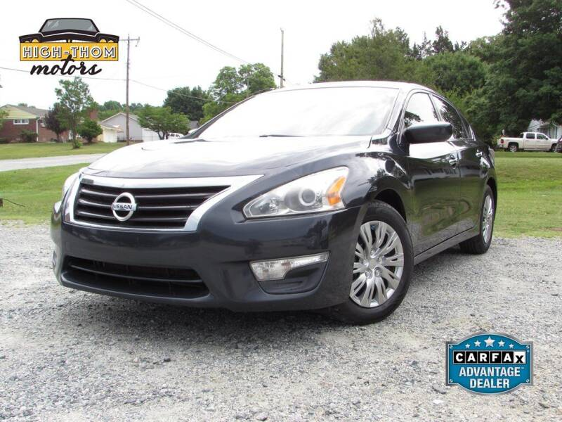 2015 Nissan Altima for sale at High-Thom Motors in Thomasville NC