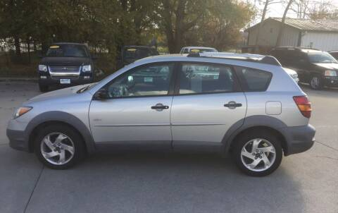 2003 Pontiac Vibe for sale at 6th Street Auto Sales in Marshalltown IA
