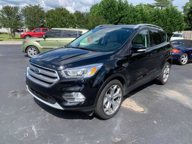 2017 Ford Escape for sale at Getsinger's Used Cars in Anderson SC