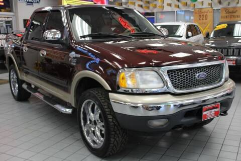 2001 Ford F-150 for sale at Windy City Motors in Chicago IL