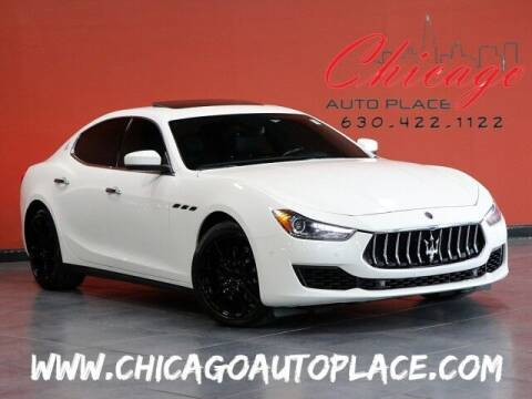 2018 Maserati Ghibli for sale at Chicago Auto Place in Bensenville IL