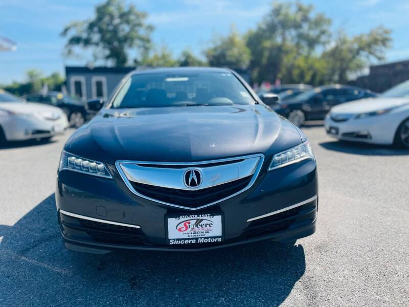 2015 Acura TLX for sale at Sincere Motors LLC in Baltimore MD