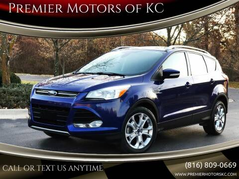 2014 Ford Escape for sale at Premier Motors of KC in Kansas City MO