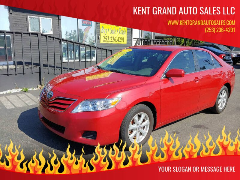 2011 Toyota Camry for sale at KENT GRAND AUTO SALES LLC in Kent WA