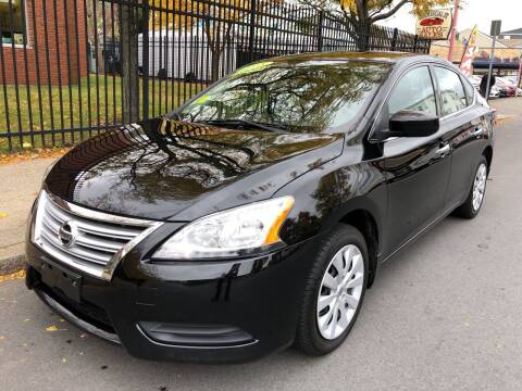2015 Nissan Sentra for sale at Commercial Street Auto Sales in Lynn MA