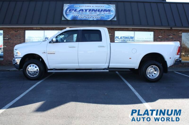 2017 RAM Ram Pickup 3500 for sale at Platinum Auto World in Fredericksburg VA