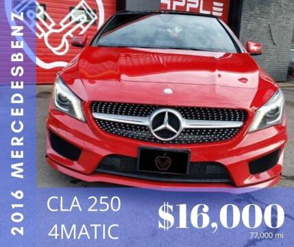 2016 Mercedes-Benz CLA for sale at Apple Auto Sales Inc in Camillus NY