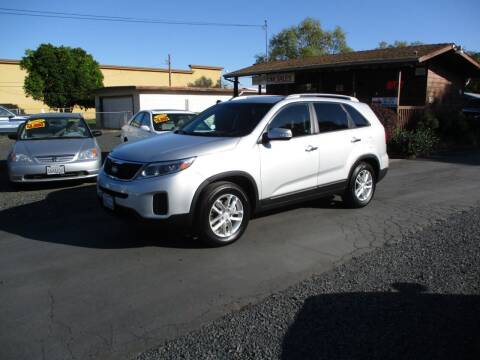 2015 Kia Sorento for sale at Manzanita Car Sales in Gridley CA