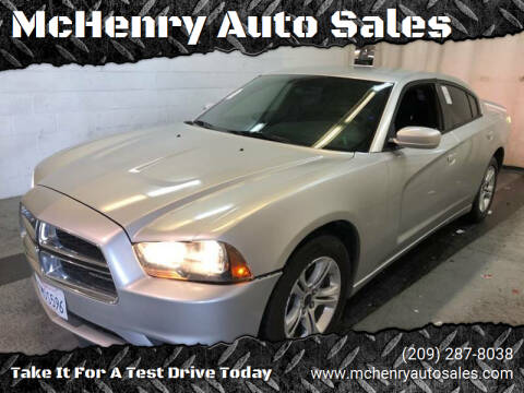 2012 Dodge Charger for sale at McHenry Auto Sales in Modesto CA
