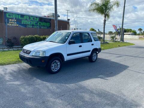 2001 Honda CR-V for sale at Galaxy Motors Inc in Melbourne FL
