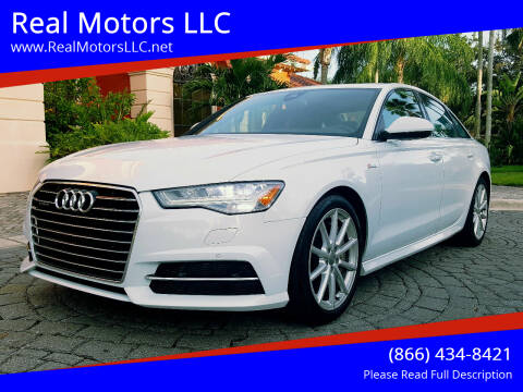 2017 Audi A6 for sale at Real Motors LLC in Clearwater FL