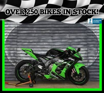 2016 Kawasaki Ninja ZX-10R for sale at Motomaxcycles.com in Mesa AZ