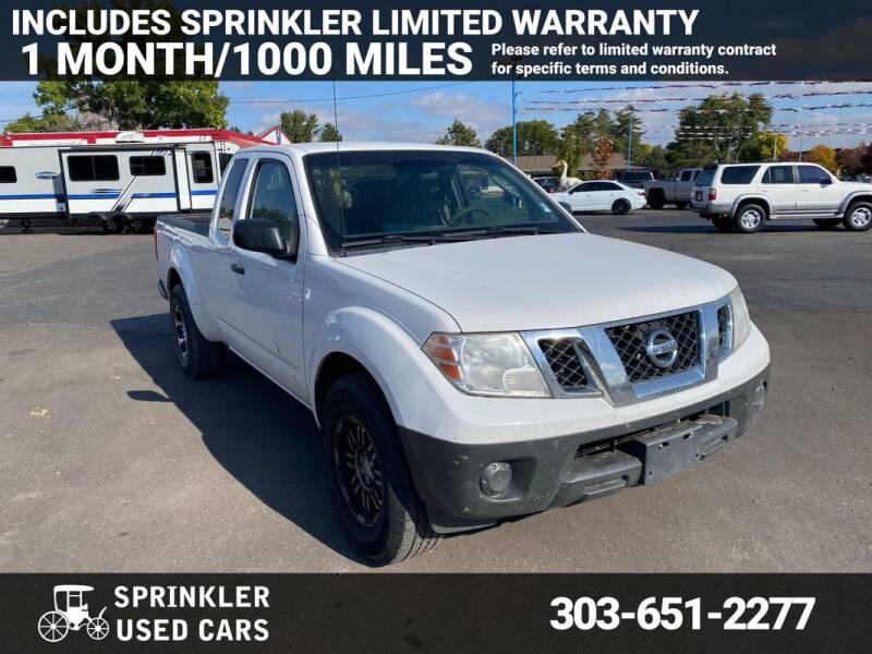 2010 Nissan Frontier for sale at Sprinkler Used Cars in Longmont CO