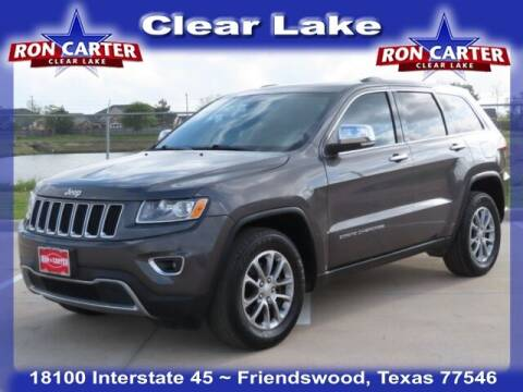 2015 Jeep Grand Cherokee for sale at Ron Carter  Clear Lake Used Cars in Houston TX