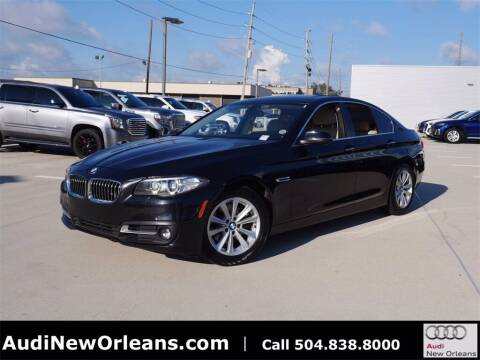 2016 BMW 5 Series for sale at Metairie Preowned Superstore in Metairie LA