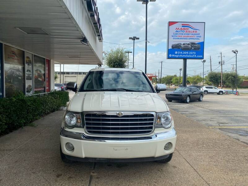 2008 Chrysler Aspen for sale at Magic Auto Sales - Cars for Cash in Dallas TX
