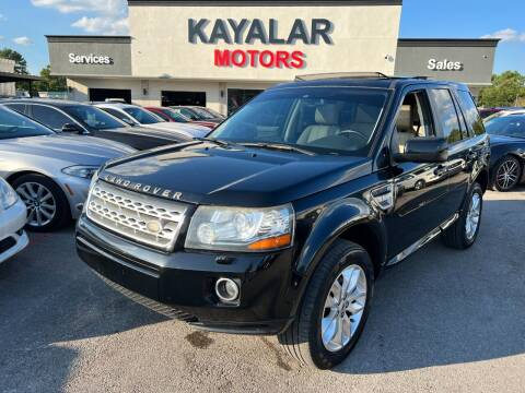 2014 Land Rover LR2 for sale at KAYALAR MOTORS in Houston TX