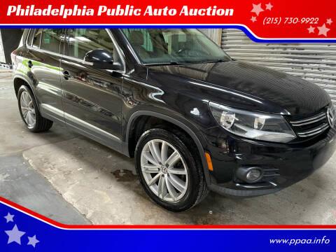 2012 Volkswagen Tiguan for sale at Philadelphia Public Auto Auction in Philadelphia PA