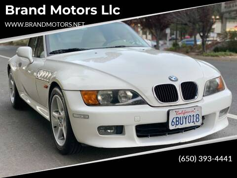 1998 BMW Z3 for sale at Brand Motors llc in Belmont CA