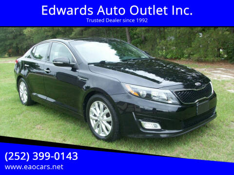 2014 Kia Optima for sale at Edwards Auto Outlet Inc. in Wilson NC