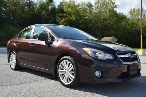 2013 Subaru Impreza for sale at CAR TRADE in Slatington PA