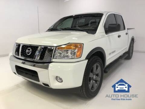 2015 Nissan Titan for sale at AUTO HOUSE PHOENIX in Peoria AZ