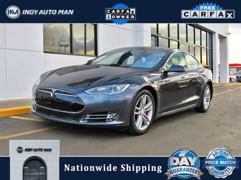 2015 Tesla Model S for sale at INDY AUTO MAN in Indianapolis IN