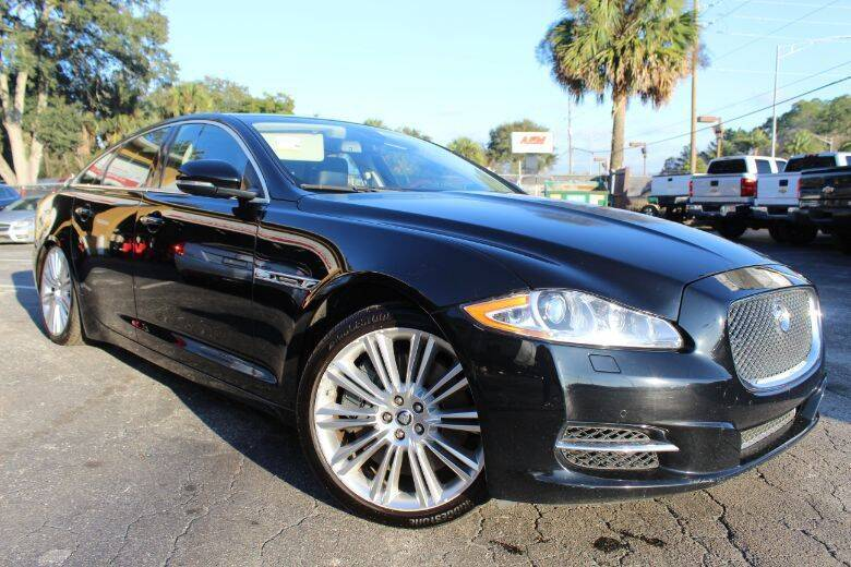 2011 Jaguar XJ for sale at Driveline LLC in Jacksonville FL