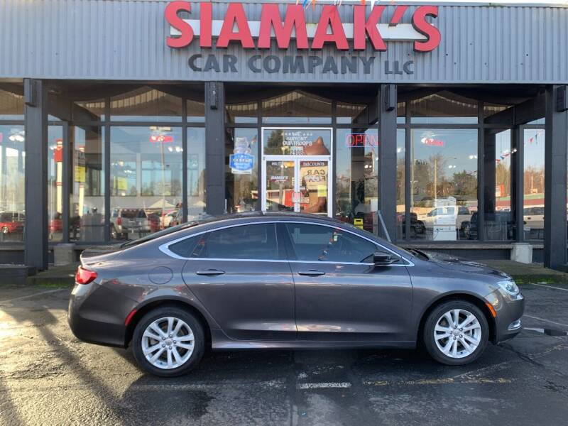 2016 Chrysler 200 for sale at Siamak's Car Company llc in Salem OR