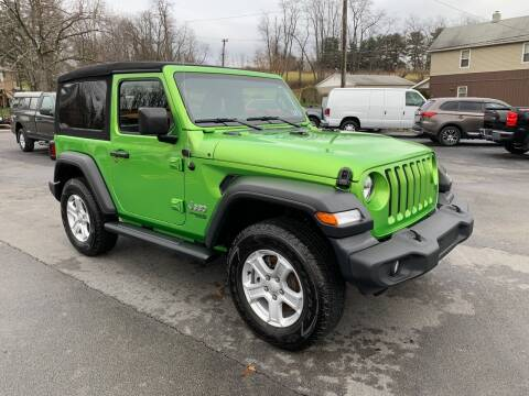 2019 Jeep Wrangler for sale at Twin Rocks Auto Sales LLC in Uniontown PA