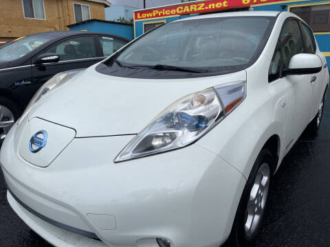 2011 Nissan LEAF for sale at CARZ in San Diego CA