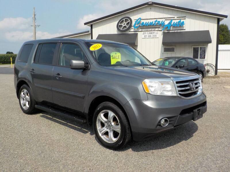 2012 Honda Pilot for sale at Country Auto in Huntsville OH