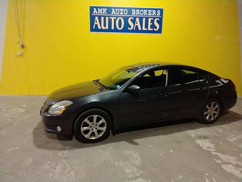 2004 Nissan Maxima for sale at AMK Auto Brokers in Derry NH