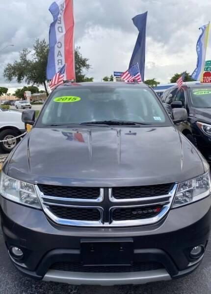 2015 Dodge Journey for sale at Navarro Auto Motors in Hialeah FL