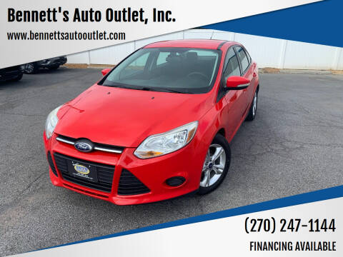 2014 Ford Focus for sale at Bennett's Auto Outlet, Inc. in Mayfield KY