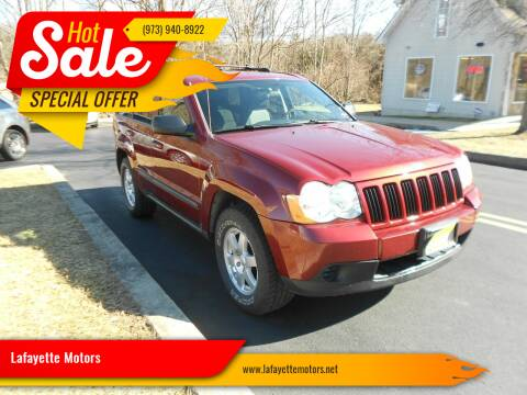 2008 Jeep Grand Cherokee for sale at Lafayette Motors 2 in Andover NJ